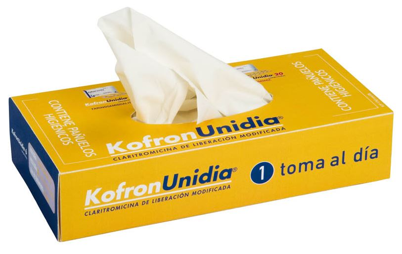 Kartonnen tissue box 100 tissues