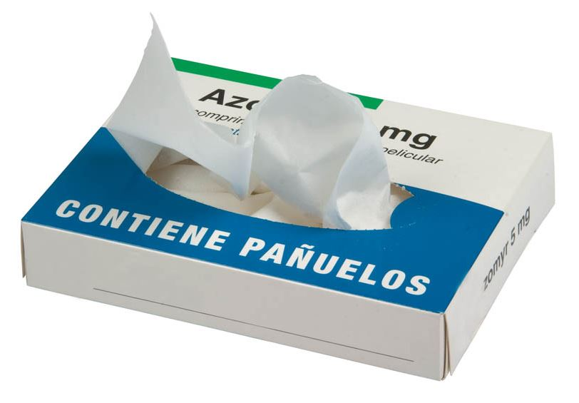 Kartonnen tissue box 50 tissues